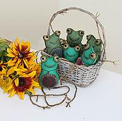 Куклы и игрушки ручной работы. Ярмарка Мастеров - ручная работа Чердачные жабы. Handmade.