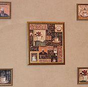 Для дома и интерьера ручной работы. Ярмарка Мастеров - ручная работа Комплект панно French Roast. Handmade.