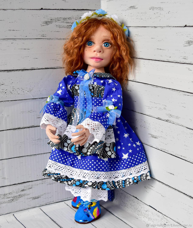 Текстильная кукла Василиса, Куклы и пупсы, Москва,  Фото №1