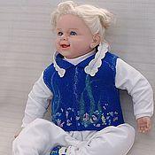 """Работы для детей, ручной работы. Ярмарка Мастеров - ручная работа Комплект для новорожденного """"Морские камушки"""". Handmade."""