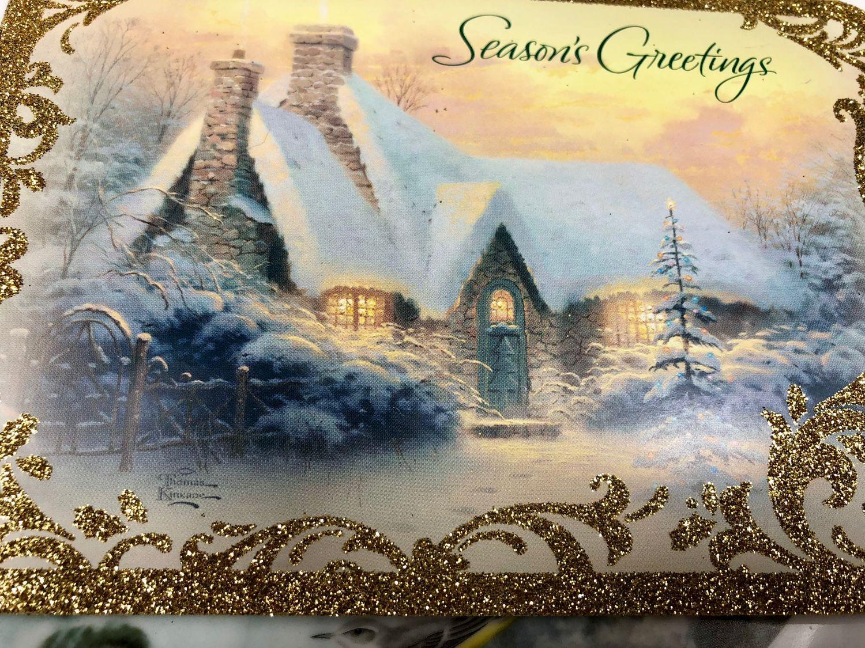 открытки американского рождества счастливы