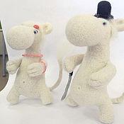 Куклы и игрушки ручной работы. Ярмарка Мастеров - ручная работа Сладкая парочка. Мумми-папа и Мумми-мама.. Handmade.