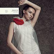 """Одежда ручной работы. Ярмарка Мастеров - ручная работа Необычное платье с цветами""""Глория"""".. Handmade."""