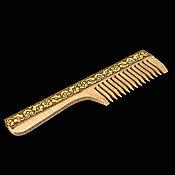 Сувениры и подарки handmade. Livemaster - original item Wooden hairbrush decorated with birch bark. Products from birch bark. Handmade.