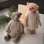 Куклы и игрушки ручной работы. Ярмарка Мастеров - ручная работа Парочка миш. Handmade.