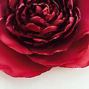 Украшения ручной работы. Ярмарка Мастеров - ручная работа Брошь Soleluna. Крупный цветок. Handmade.