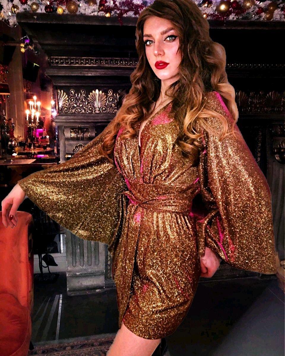 Dresses handmade. Livemaster - handmade. Buy Club dress 'Brilliant'.Dress, christmas dress, dress with sequins