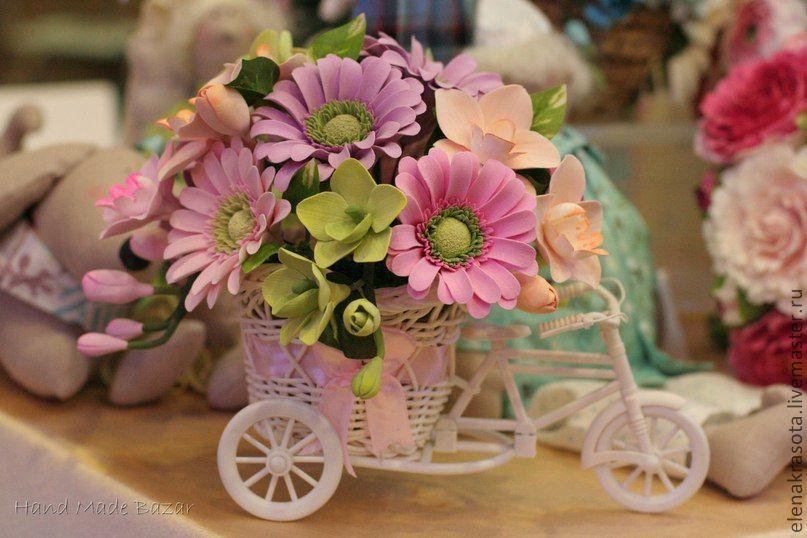 Велосипед для цветов мастер-класс