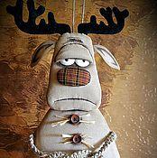 Куклы и игрушки ручной работы. Ярмарка Мастеров - ручная работа Звери дверные. Handmade.