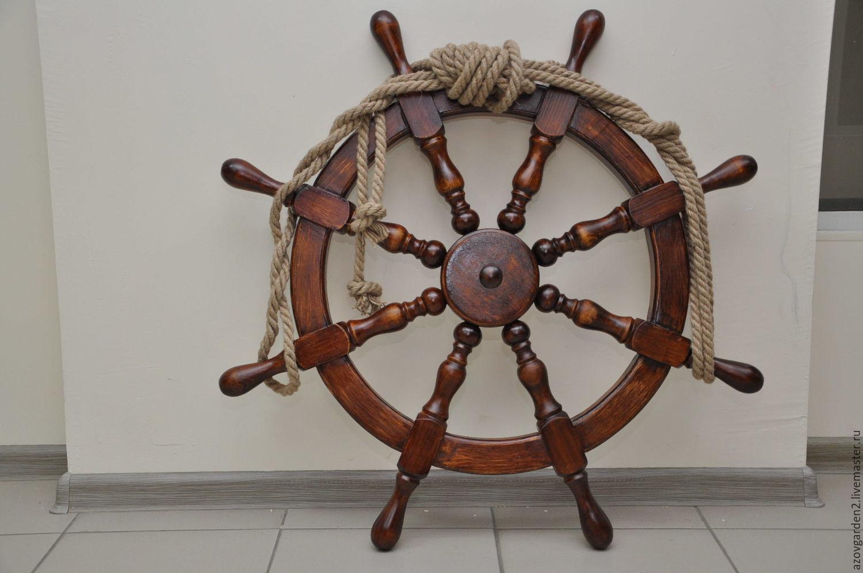 Как сделать штурвал корабля из дерева своими руками