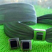 Винтаж,винтажный серебряный комплект 925пробы из Италии.!