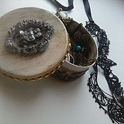 Сувениры и подарки ручной работы. Ярмарка Мастеров - ручная работа Коробочка для подарка. Handmade.