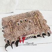 """Канцелярские товары ручной работы. Ярмарка Мастеров - ручная работа """"Чудовищная книга о чудовищах"""" по мотивам фильма о Гарри Поттере. Handmade."""