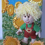 Куклы и игрушки ручной работы. Ярмарка Мастеров - ручная работа Кукла Подсолнухи. Handmade.
