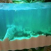 Косметика ручной работы. Ярмарка Мастеров - ручная работа Кусочек моря, мыло. Handmade.