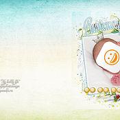 Дизайн и реклама ручной работы. Ярмарка Мастеров - ручная работа Макет Детской фотокниги. Handmade.