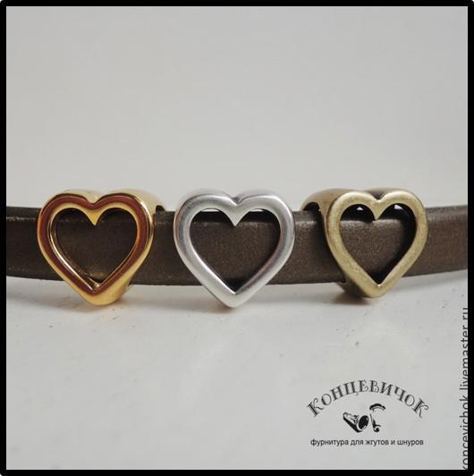 Для украшений ручной работы. Ярмарка Мастеров - ручная работа. Купить Регализ Сердце три цвета Испания. Handmade. Разноцветный