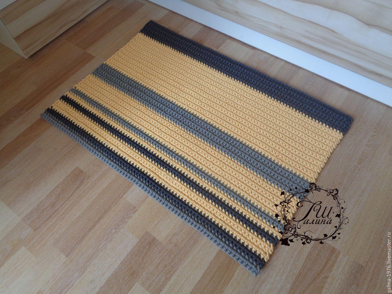 вязаный коврик покорность купить в интернет магазине на ярмарке