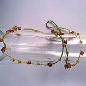Украшения ручной работы. Ярмарка Мастеров - ручная работа Ожерелье в стиле Boho Chic №1 (продано) могу сделать подобное. Handmade.