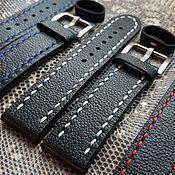 Аксессуары handmade. Livemaster - original item watchband 22mm. Handmade.