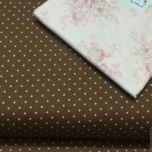 """Шитье ручной работы. Ярмарка Мастеров - ручная работа. Купить Ткань """"Teddy Bear"""" Windham Fabrics. Handmade. Коричневый"""