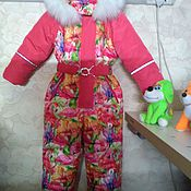 Одежда handmade. Livemaster - original item Winter jumpsuit. Handmade.