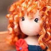 Куклы и игрушки ручной работы. Ярмарка Мастеров - ручная работа Рыжая кудряшка. Handmade.