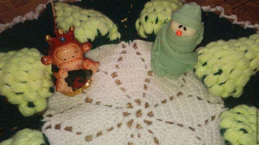 """Текстиль, ковры ручной работы. Ярмарка Мастеров - ручная работа. Купить салфетка """"грозди винограда"""". Handmade. Комбинированный, салфетка, хлопок"""