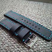 Украшения handmade. Livemaster - original item Strap with blue thread. Handmade.