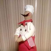Куклы и игрушки ручной работы. Ярмарка Мастеров - ручная работа Повар Тильда.. Handmade.