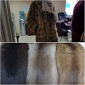 Одежда handmade. Livemaster - original item Marten fur coat tailoring. Handmade.