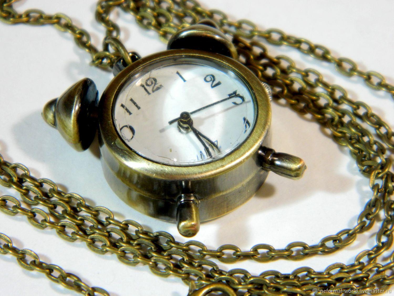 WATCH PENDANT STEAMPUNK 'BUDIL'NIK', Watch medallion, Saratov,  Фото №1