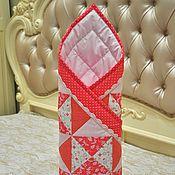 Конверты на выписку ручной работы. Ярмарка Мастеров - ручная работа Одеяло - конверт на выписку летний, осенний. Лоскутное одеяло девочке. Handmade.