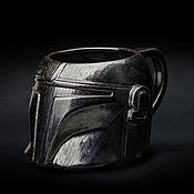 Посуда handmade. Livemaster - original item Mando Mug (Star Wars: Mandalorian Mug) / Mandalorian. Handmade.
