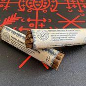 Фен-шуй и эзотерика handmade. Livemaster - original item Incense Voodoo Marassa Gameex 8-V. Handmade.