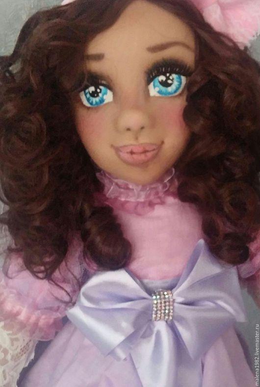 Коллекционные куклы ручной работы. Ярмарка Мастеров - ручная работа. Купить авторская кукла. Handmade. Бледно-сиреневый, коллекционные игрушки