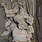 """Картины и панно ручной работы. Ярмарка Мастеров - ручная работа Натуральная кожа Картина из кожи """" Нежность"""". Handmade."""
