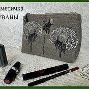 Сумки и аксессуары handmade. Livemaster - original item Cosmetic textile Tuwani. Handmade.