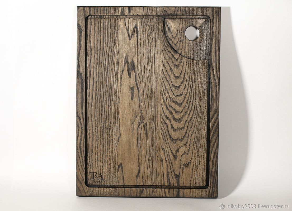 Wooden cutting board ' Wenge', Cutting Boards, St. Petersburg,  Фото №1