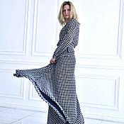 Одежда ручной работы. Ярмарка Мастеров - ручная работа Платье из шифона. Handmade.