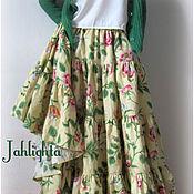 "Одежда handmade. Livemaster - original item Skirt ""Magic Garden"" 2. Handmade."