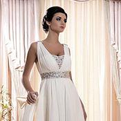 Свадебный салон ручной работы. Ярмарка Мастеров - ручная работа Шикарное платье в греческом стиле. Handmade.