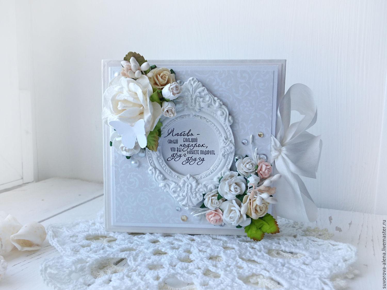 Свадебная открытка для денег скрапбукинг 10