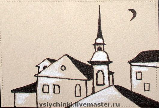Обложки ручной работы. Ярмарка Мастеров - ручная работа. Купить Обложка Питер. Handmade. Обложка на паспорт, подарок, обложка с городом