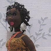 Куклы и игрушки ручной работы. Ярмарка Мастеров - ручная работа куклы африканки. Handmade.