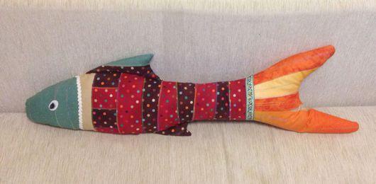 Текстиль, ковры ручной работы. Ярмарка Мастеров - ручная работа. Купить Игрушка-подушка. Handmade. Комбинированный, текстильная подушка