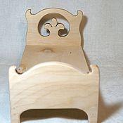 Куклы и игрушки handmade. Livemaster - original item Bed with horns for dolls. Handmade.