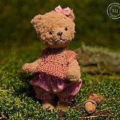 Куклы и игрушки ручной работы. Ярмарка Мастеров - ручная работа Мишка тедди  Лика 12см.. Handmade.