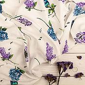 Материалы для творчества handmade. Livemaster - original item Viscose dress art. 40.0007. Handmade.
