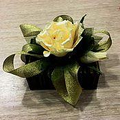 Цветы и флористика ручной работы. Ярмарка Мастеров - ручная работа Подарок. Handmade.